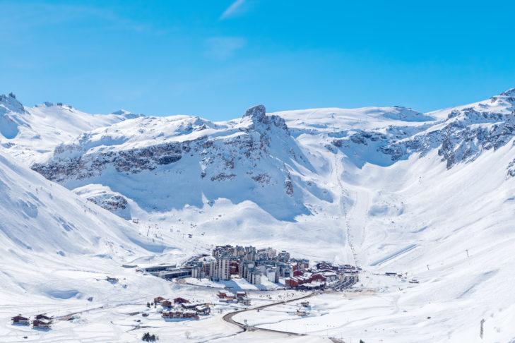 Die Skistation Tignes bietet alles auf einem Fleck. Einziger Wermutstropfen: Die Monster-Halfpipe ist im Mai nicht mehr geöffnet.