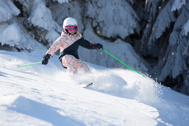 Tiefschnee fahren kinderleicht © Deutscher Skilehrerverband e.V