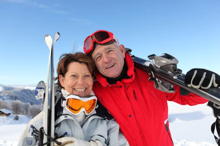Wintersport tut auch im Alter gut!