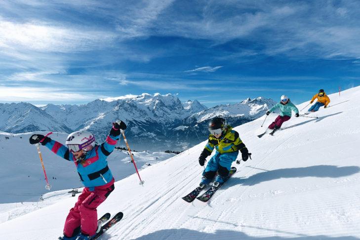 Das Skigebiet Meiringen-Hasliberg ist auf Familien mit Kindern ausgerichtet.