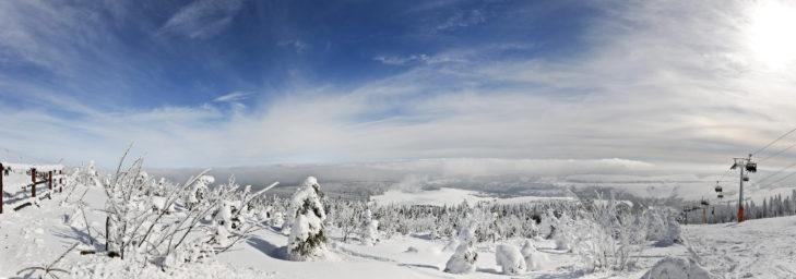 Traum-Panorama über die Region.