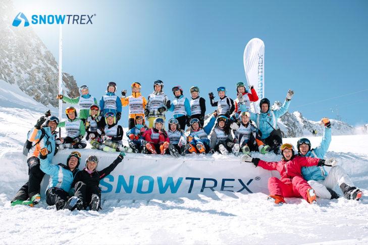 Die glücklichen Teilnehmer beim Felix-Neureuther-Race-Camp.