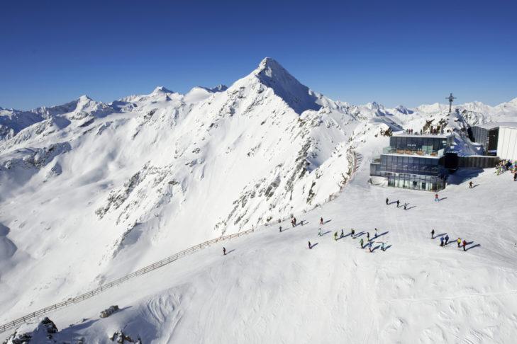 Am Gaislachkogel in Sölden lässt sich der Skiurlaub zu Weihnachten ebenfalls wunderbar verbringen.