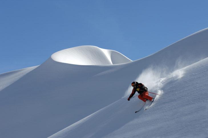 200 km Tiefschneeabfahrten gibt es am Arlberg.