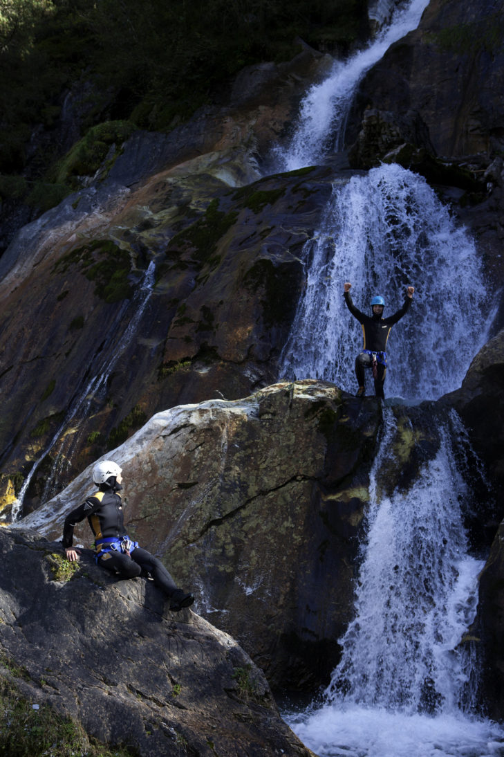 Abenteuer Canyoning