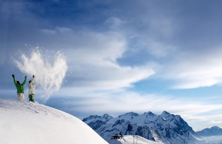 Im Haslital erwartet Wintersportler eine hohe Schneesicherheit und ein Traumpanorama.