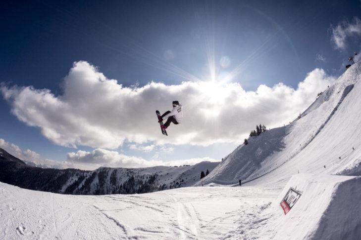 Der NITRO Snowpark in Leogang lässt Freestyler-Herzen höher schlagen.