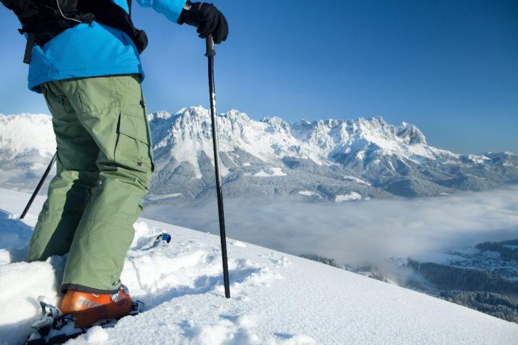 SkiWelt Wilder Kaiser-Brixental: Tiefschnee und Hammer-Aussicht pur!