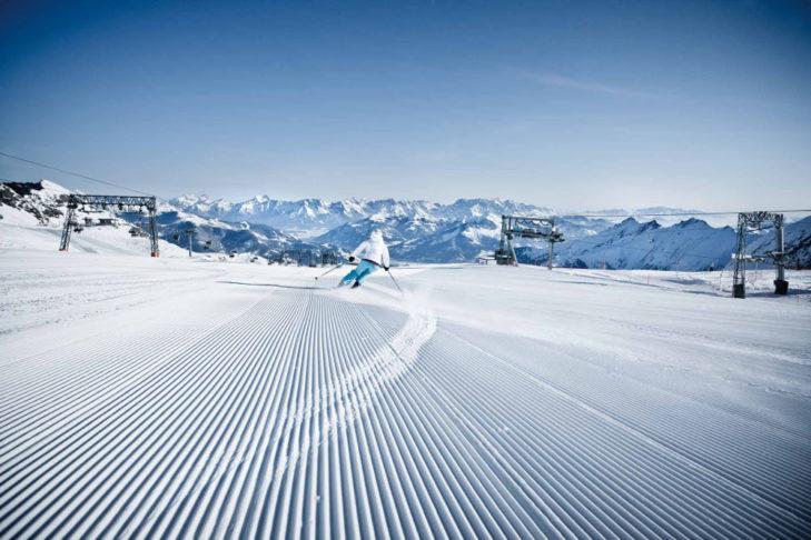 Bester Schnee am Kitzsteinhorn.