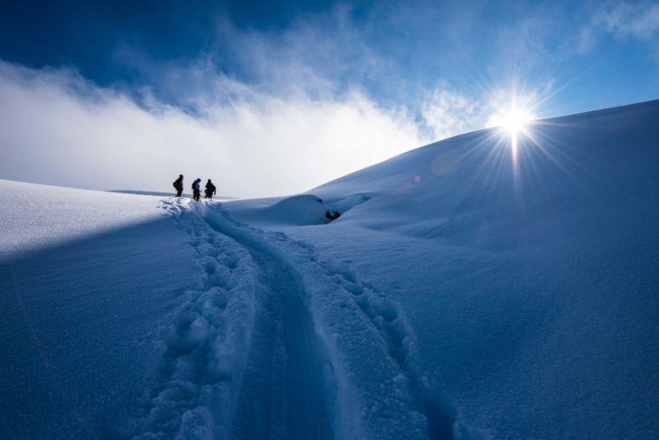 Purer Genuss und völlige Ruhe in der Natur. © Skitourenwinter.com