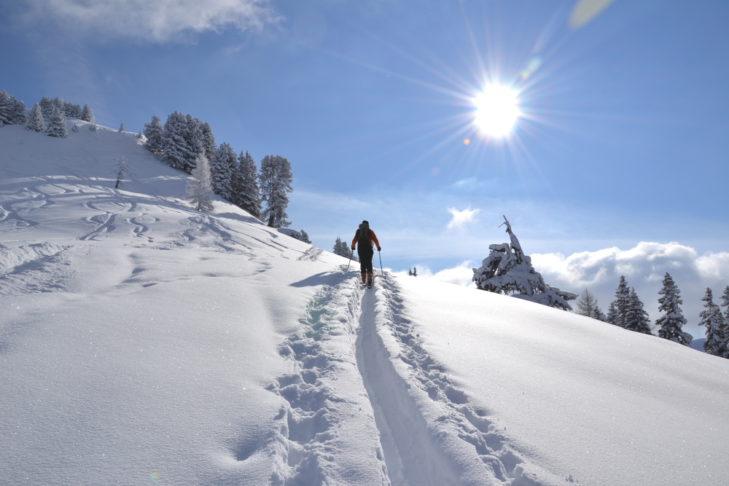 Im Großarltal gibt es zahlreiche Skitourenrouten und Geländeabfahrten.