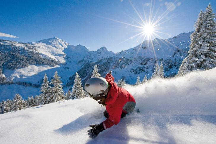 Skigebiet Ski Juwel Alpbachtal Wildschönau: Sonne und Schnee satt