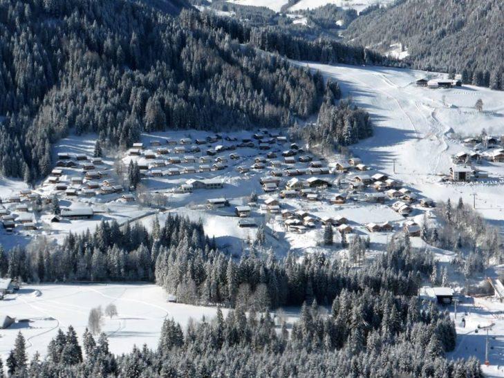 Luftaufnahme von Annaberg.
