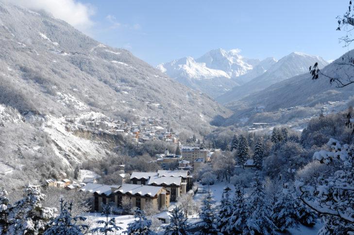 Auch die kleineren Talorte wie Brides-les-Bains haben ihre Reize.