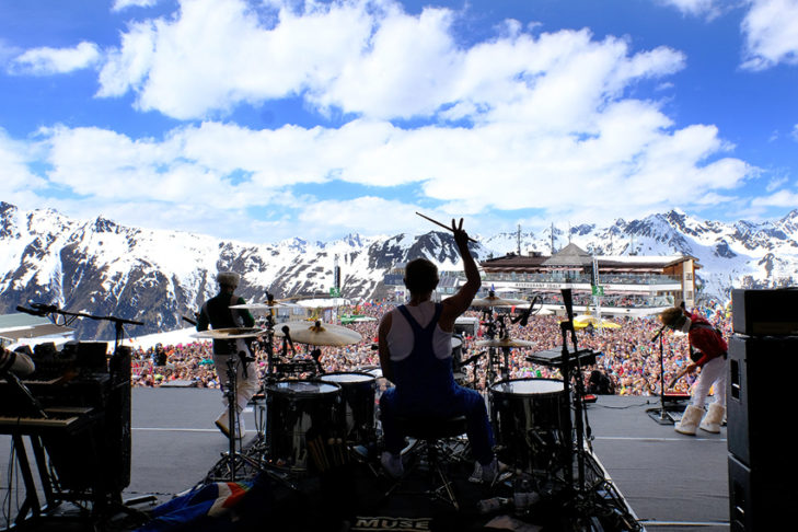 "Das legendäre ""Top of the Mountain""-Konzert in Ischgl."