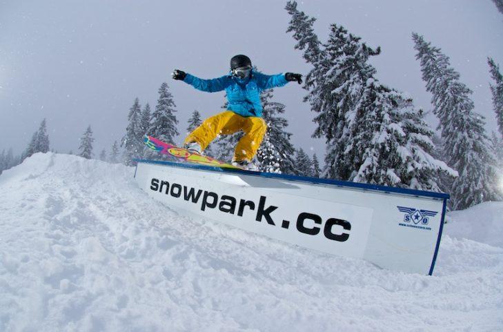 Mehrere Snowparks, wie hier in Maria Alm, sorgen für Freestyle-Glück.