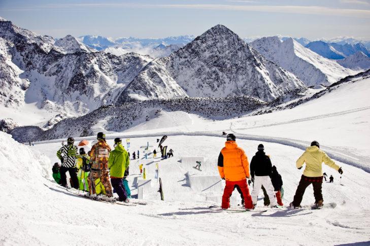 Auch für fortgeschrittene Skifahrer und Boarder gibt es Kurse!