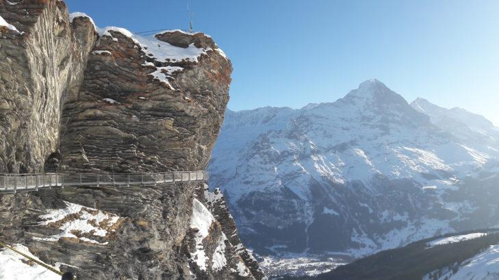 Eines der berühmtesten Motive aus Grindelwald: der Cliff Walk.