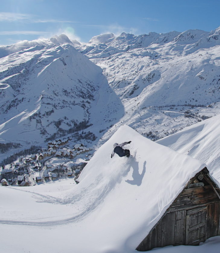 Powdern geht im Skigebiet Les Sybelles nahezu überall.