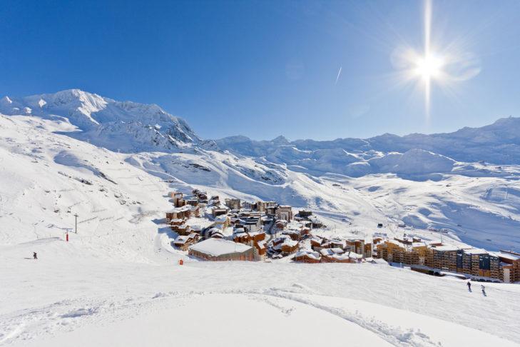 Val Thorens, das Herz der 3 Vallèes und höchstgelegener Wintersportort Europas.