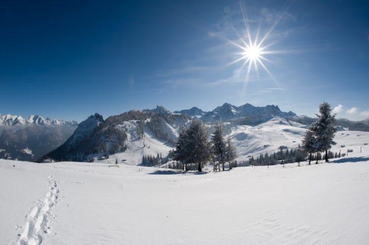 Das malerische Saalachtal zeichnet sich durch weite Almenlandschaften und fantastische Bergpanoramen aus.