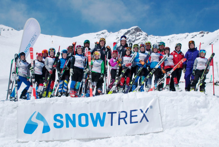 Die glücklichen Teilnehmer des 9. Felix Neureuther Race-Camps in Sölden.