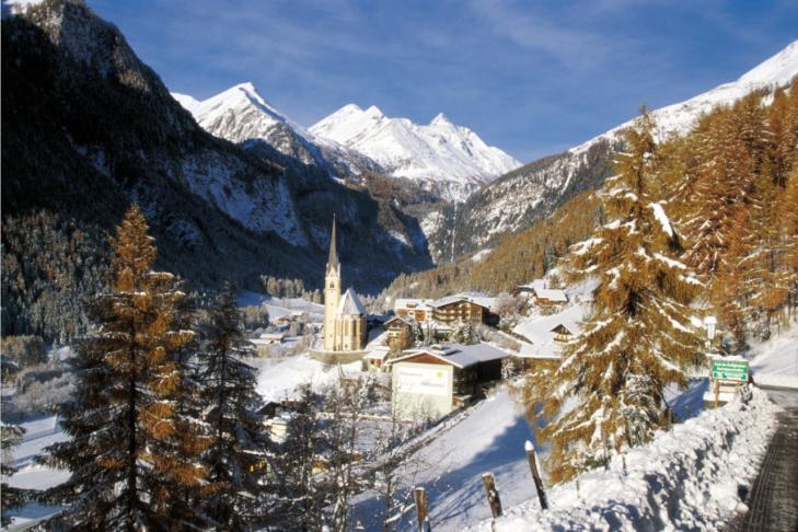 Das idyllische Heiligenblut mit der Kirche