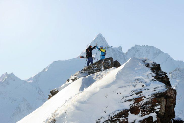 Der Grossglockner (3.798 m) im Hintergrund bietet ein beeindruckendes Bild.