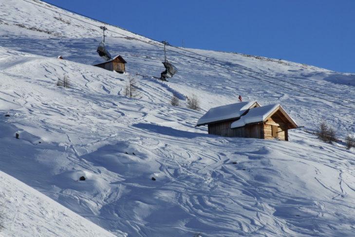 Skigebiet Großglockner-Heiligenblut: das Eldorado für Freerider.