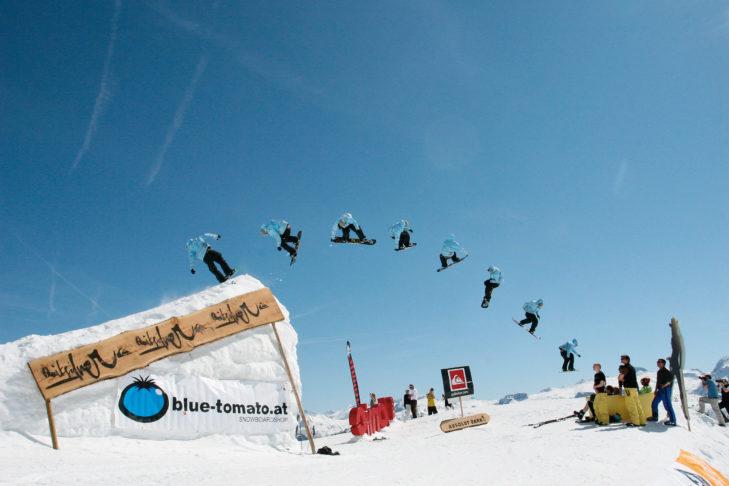 Freestyle-Himmel im Absolut Park.