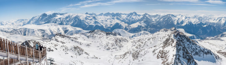 Sagenhaftes Panorama in Les 2 Alpes!