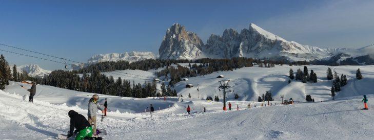 Val Gardena Gröden Skigebiet