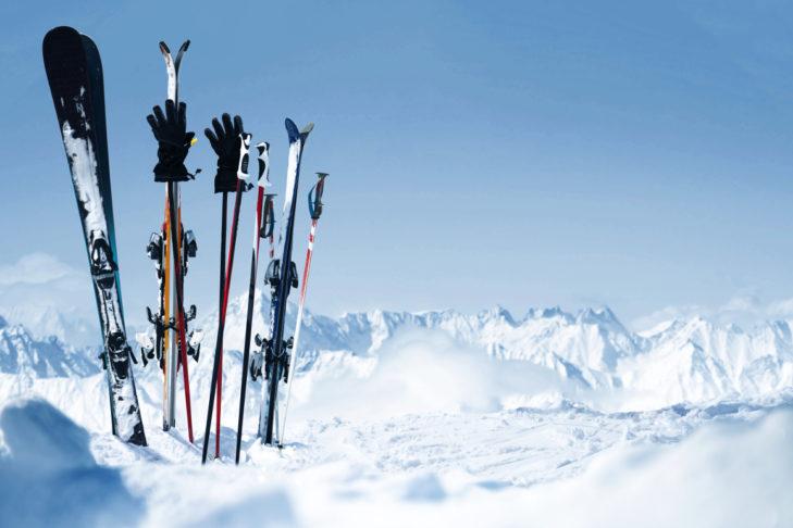 Gepflegtes Material macht Wintersportlern lange Freude.