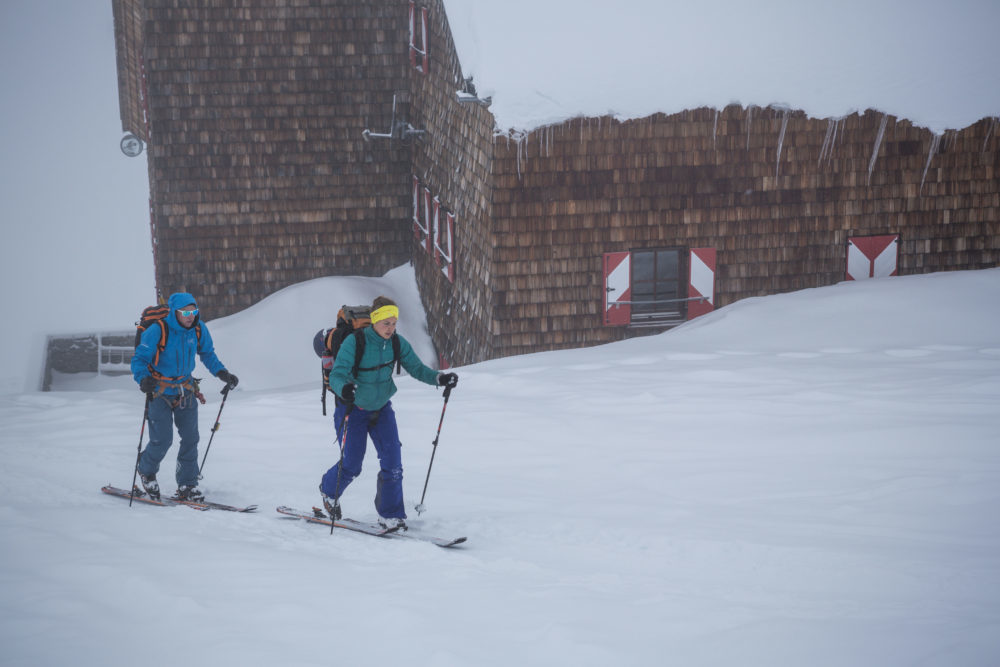 Skitourengehen am Großvenediger von der Kürsinger Hütte © www.skitourenwinter.com Mandl/Zimmer