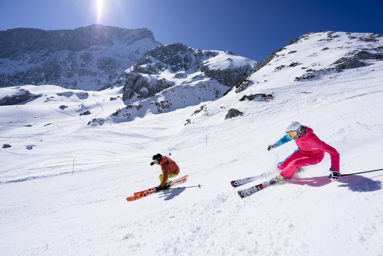 Snowboarding Alpspitze Garmisch Partenkirchen - YouTube