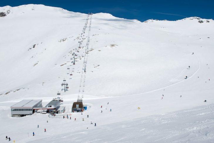 Der Mölltaler Gletscher ist das Trainingsgelände zahlreicher Profisportler.