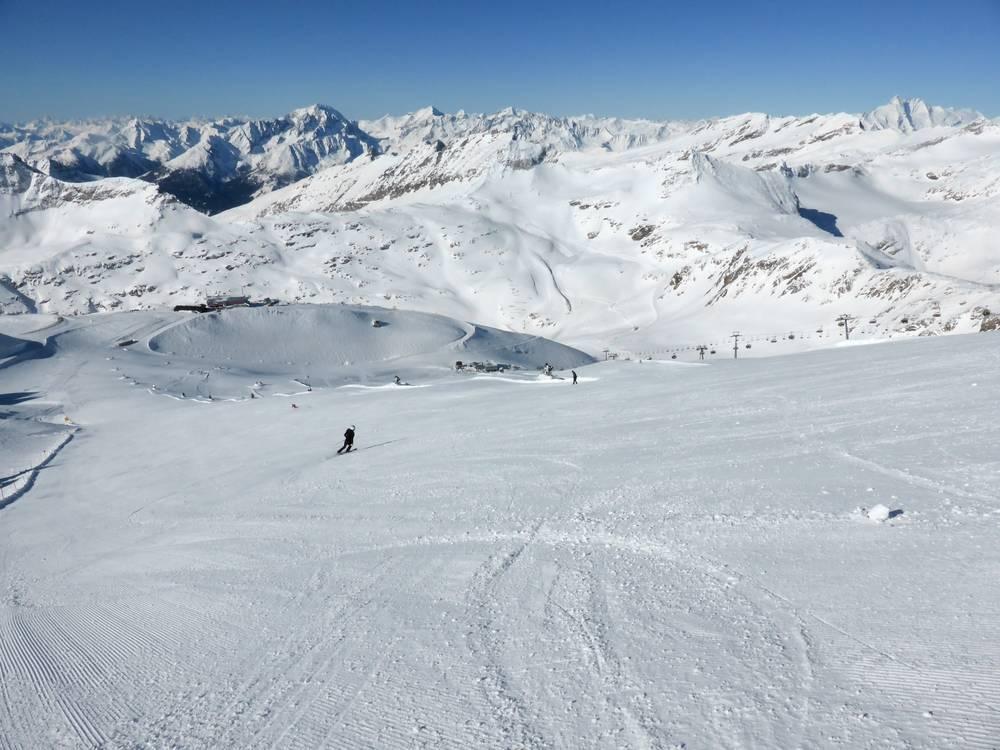 Schneehöhe Mölltaler Gletscher