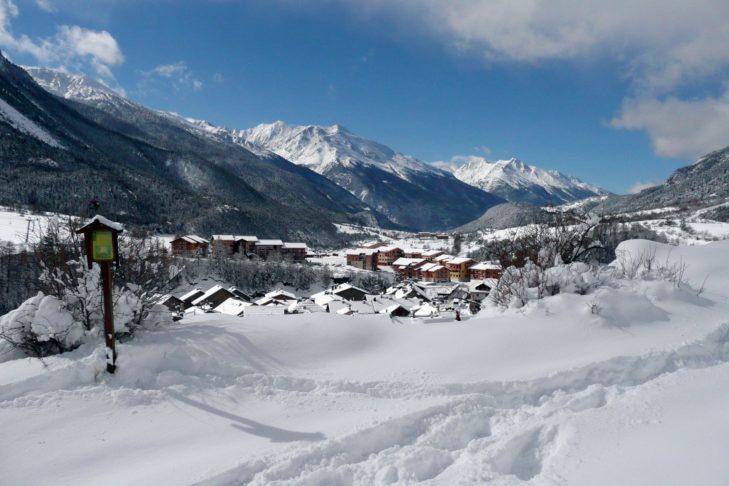 Val Cenis liegt auf 1.400 m Höhe.