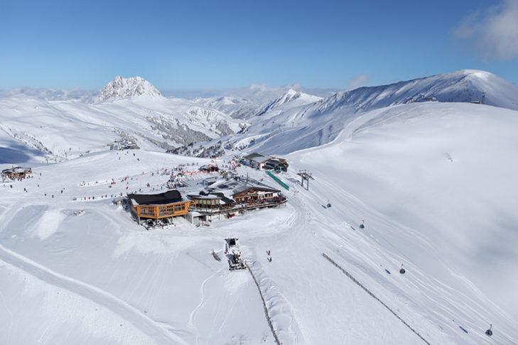 Die Bergstation am Wildkogel.