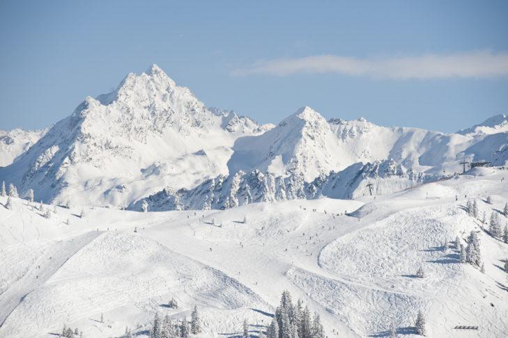 Die Silvretta Montafon ist eines der schneereichsten Skigebiete in Vorlarberg.