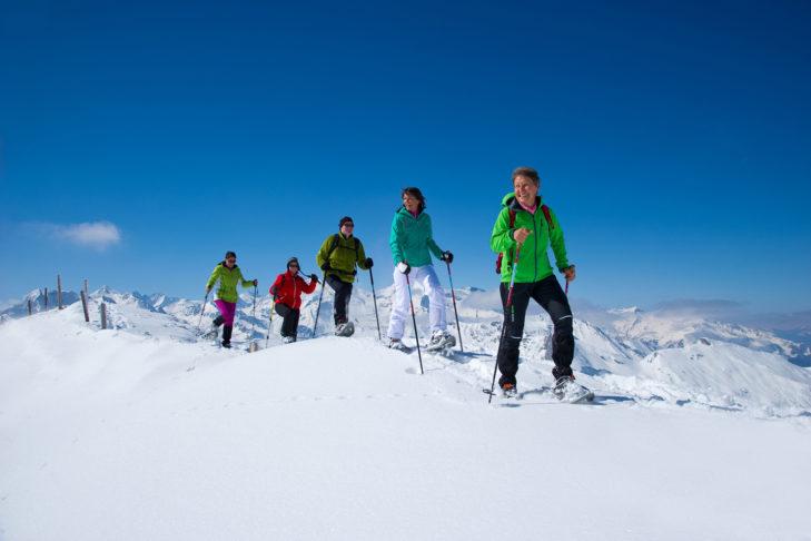 Schneeschuhtouren sind eine beliebte Freizeitaktivität im Raurisertal.