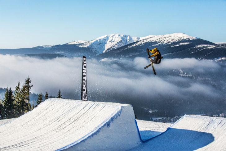 Der Snowpark Svatý Petr zählt zu den besten des Landes.