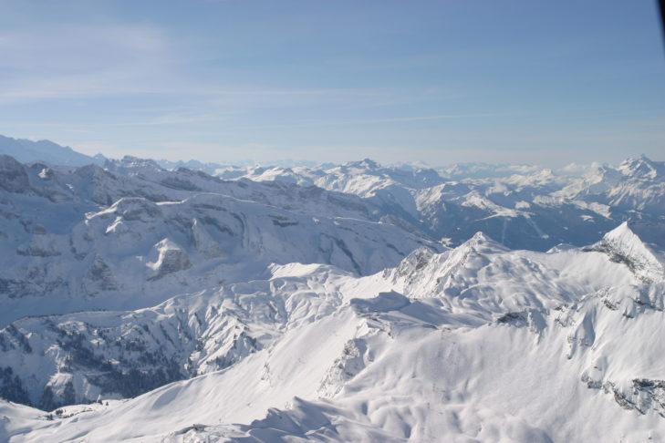 In Avoriaz bieten sich traumhafte Blicke über die Alpen.