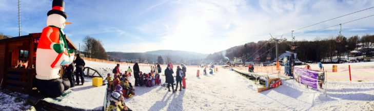 Im Skipark Černý Důl warten 6,5 Abfahrtskilometer darauf erkundet zu werden.