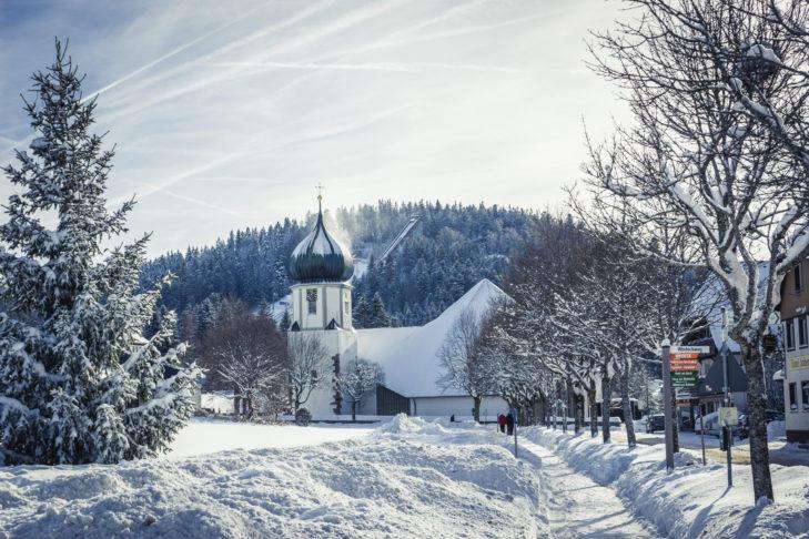 Kirchwiese in Hinterzarten, Feldberg