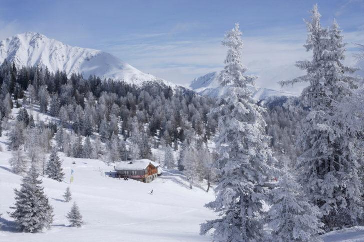 Auch die Einkehr in ruhiger gelegenen Hütten ist im Eisacktal möglich.