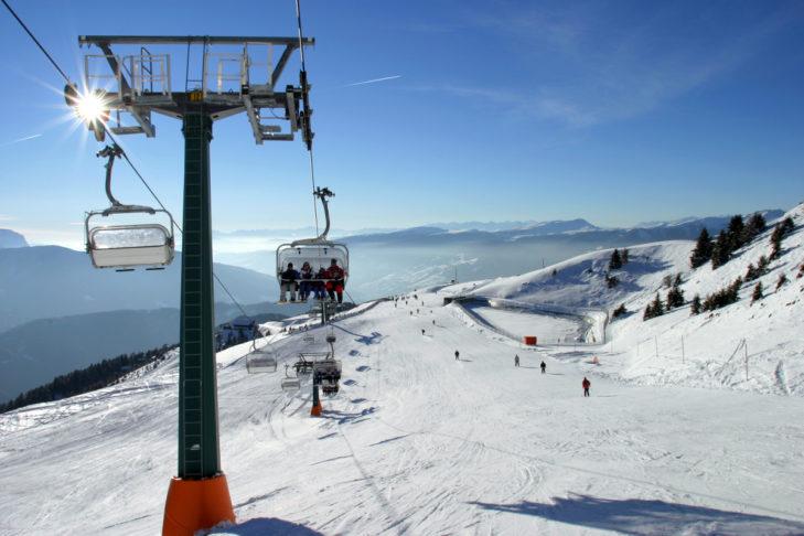Grandioser Panoramablick über die Dolomiten.