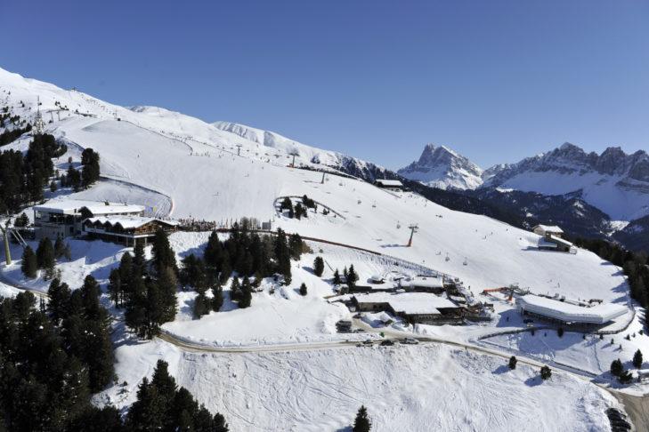 Das Skigebiet Eisacktal erstreckt sich bis auf 2.510 m Höhe.