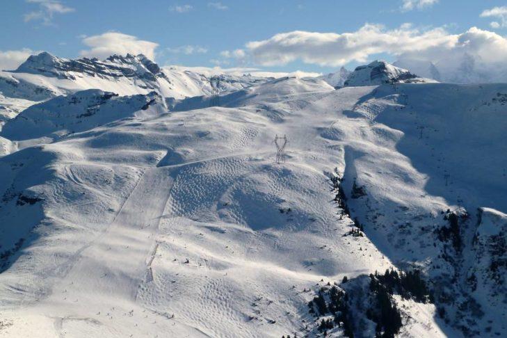Im Skigebiet Grand Massif findet jeder Wintersportler eine geeignete Piste.