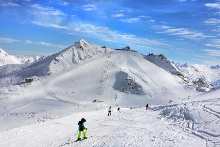 Der Hintertuxer Gletscher bietet Skivergnügen an 365 Tagen im Jahr.